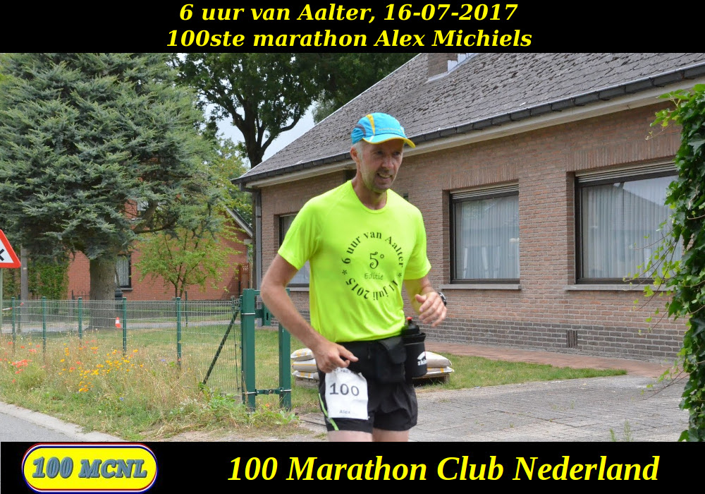 100ste marathon Alex Michiels