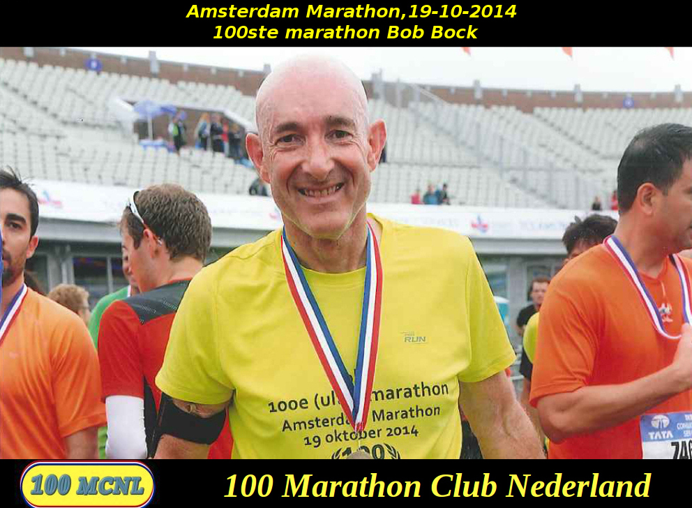 100ste marathon Bob Bock