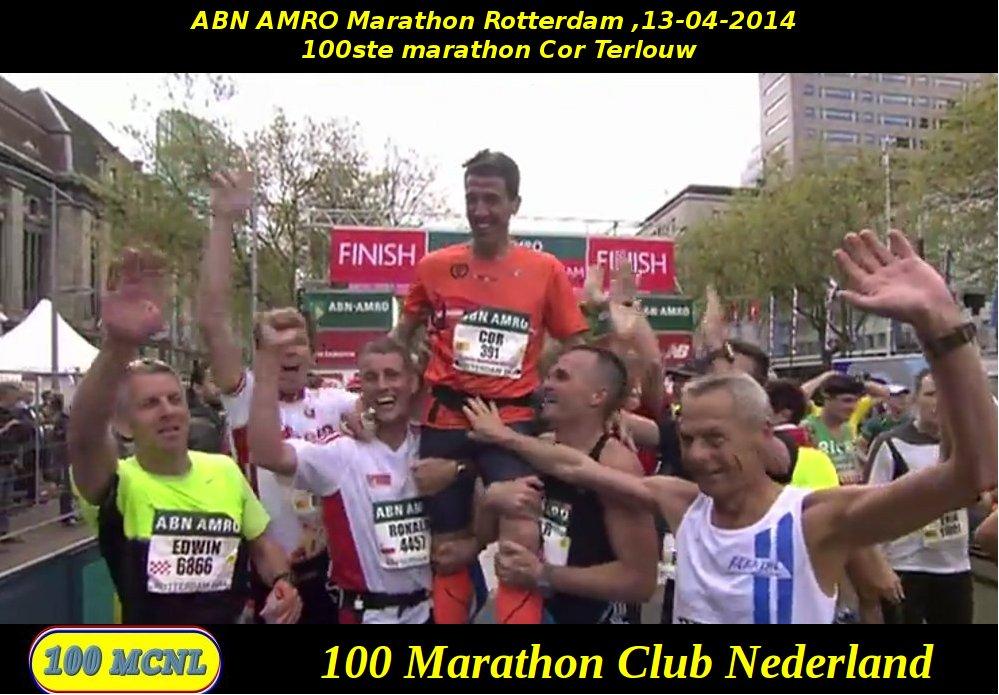 100ste marathon Cor Terlouw