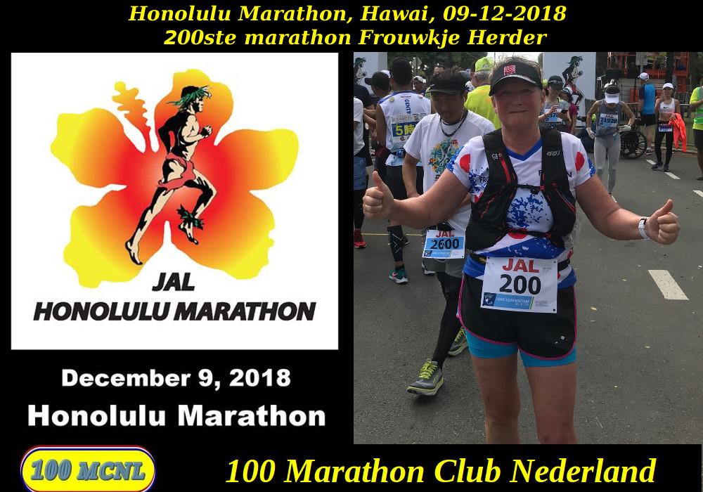 250ste marathon Frouwkje Herder
