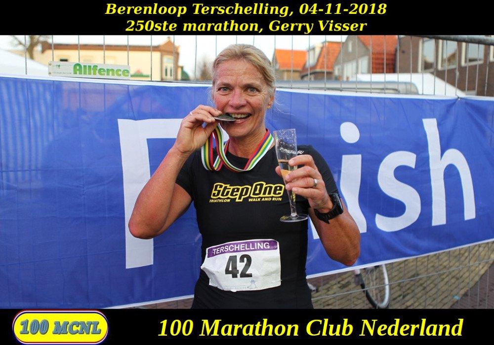 250ste marathon Gerry Visser