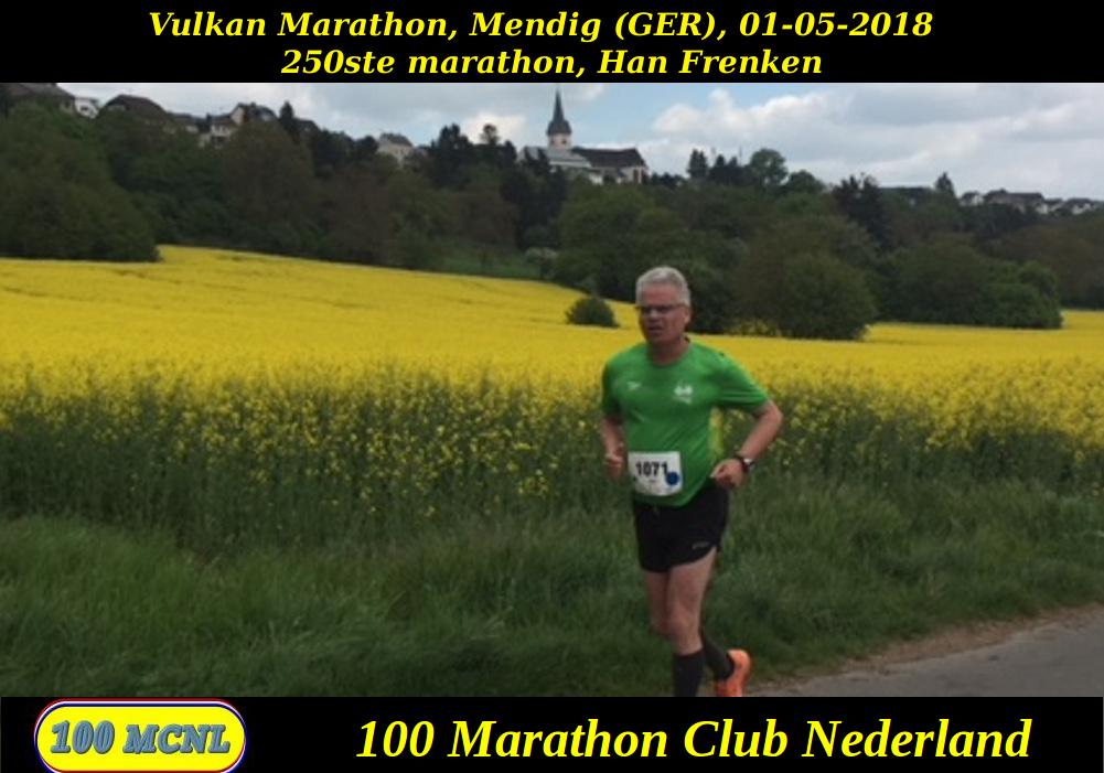 250ste marathon Han Frenken