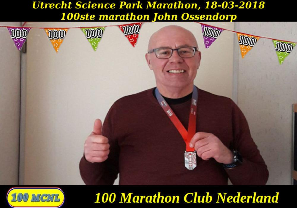 100ste marathon John Ossendorp