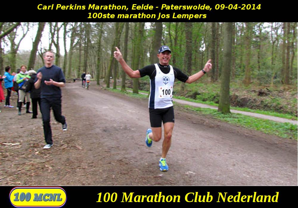 100ste marathon Jos Lempers