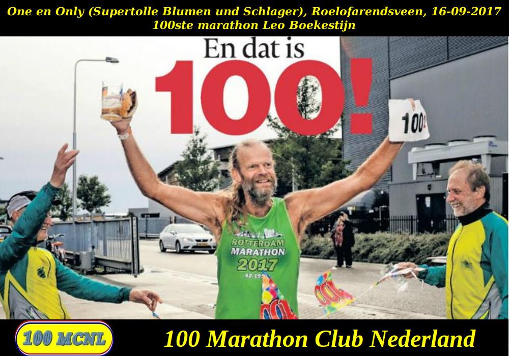 100ste marathon Leo Boekestijn