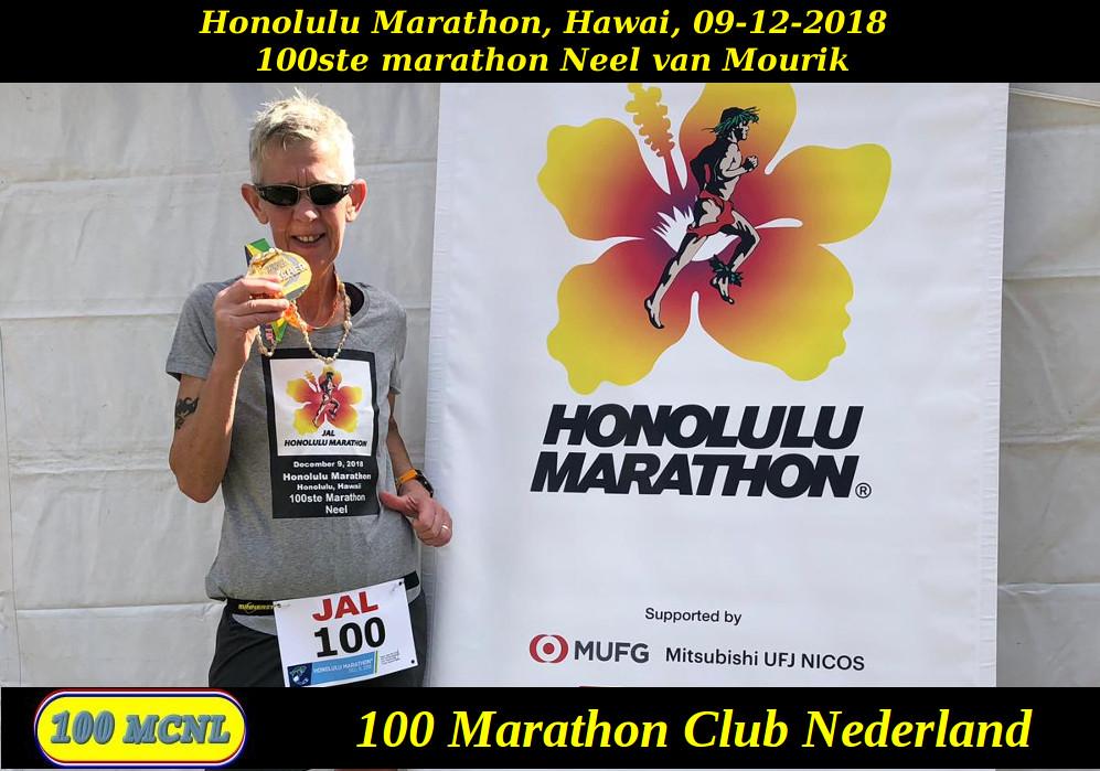 100ste marathon Neel van Mourik