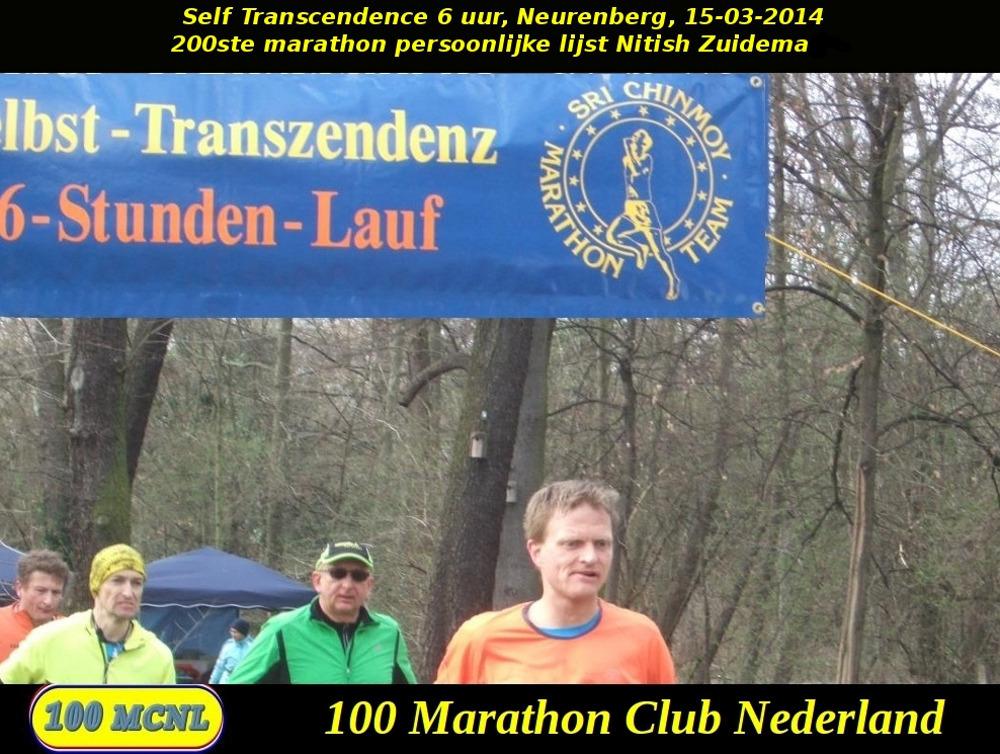 200ste marathon Nitish Zuidema
