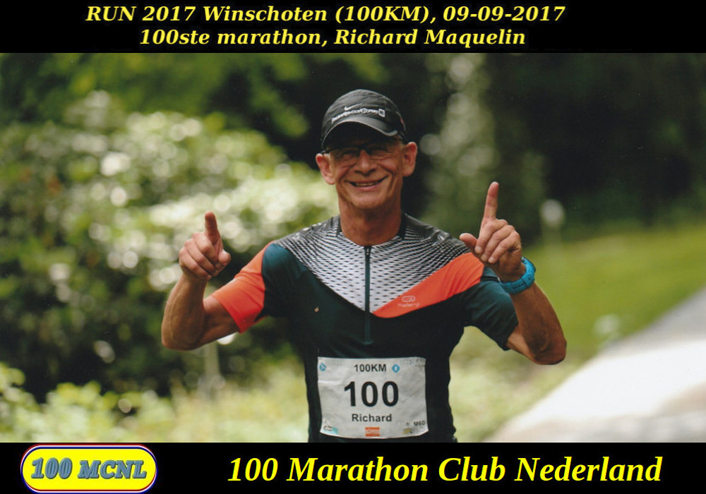 100ste marathon Richard Maquelin