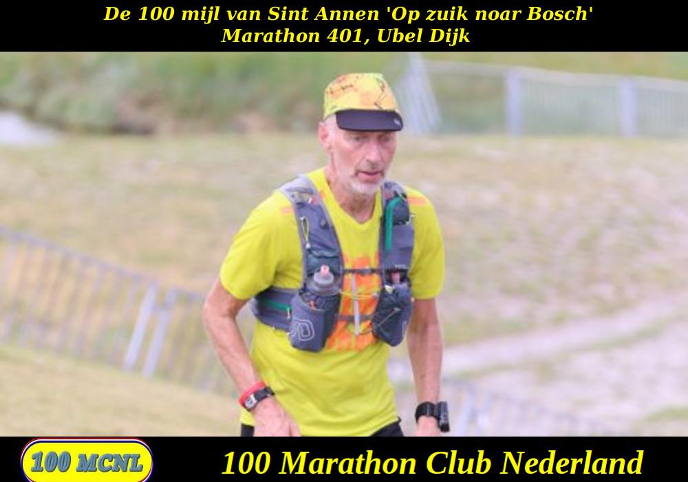 Ubel Dijk , 401 marathons