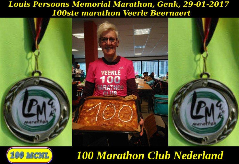 100ste marathon Veerle Beernaert