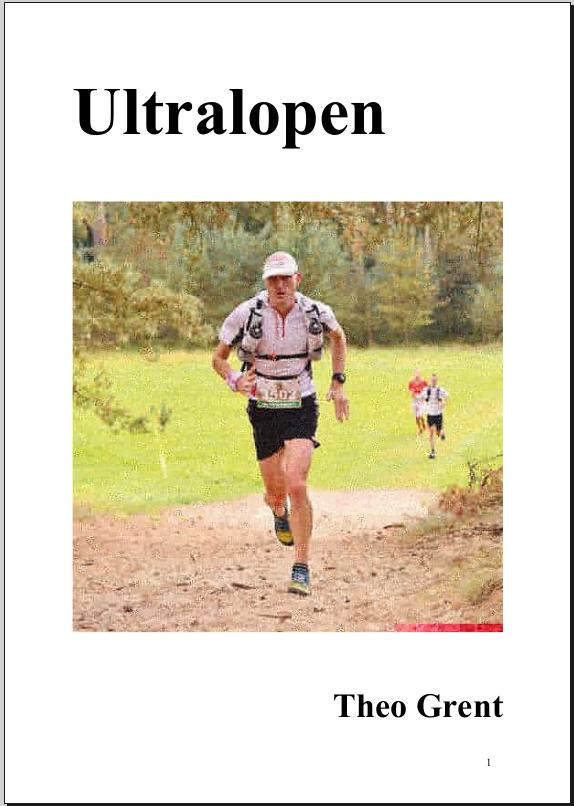 Boek Ultralopen Theo Grent